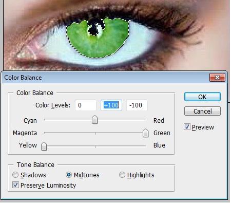 Photoshopta göz rengi değiştirme resimli anlatim | mintik.com