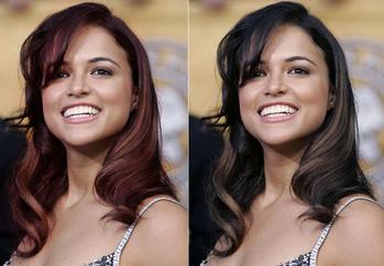 Photoshopta Saç Rengi Değiştirme Mintikcom