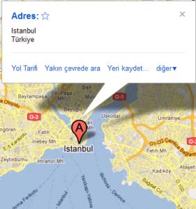 Sitene Google Maps Haritası Ekle | mintik.com