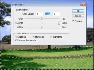 Photoshop Cs3 te Solmuş Manzarayı Renklendirme
