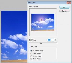 Photoshop Cs3 güneş efekti verme