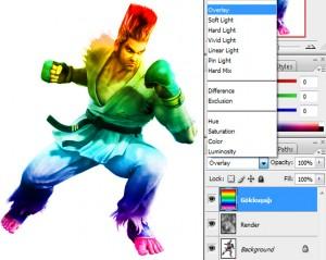 Photoshop Light  Effect, Photoshop Işık Efekti | mintik.com