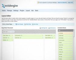 Social engine scripti demo admin