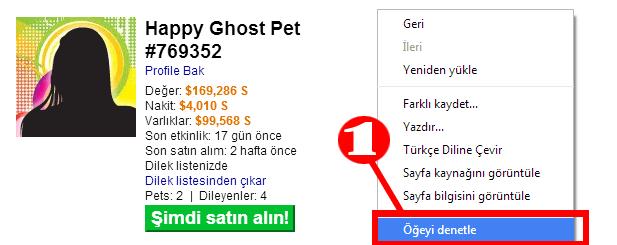 Hi5 Tagged üzerinden otomatik pet satın alma